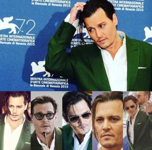 Johnny at Venice Film Festival - Black Mass premiere (4th Sep 2015)