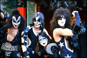 KISS (Grauman's Chinese Theater) Hollywood, California…February 24, 1976