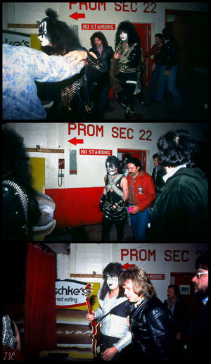 KISS ~London, Ontario…July 18, 1977 (Love Gun Tour)