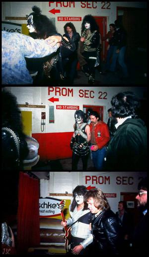 KISS ~London, Ontario…July 18, 1977 (Love Gun Tour)