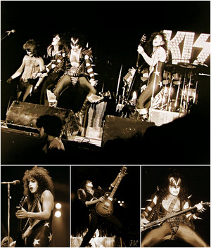 KISS ~Los Angeles, California…February 1976 (Alive! Tour-The Forum)