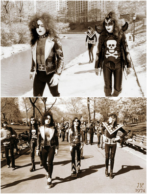 किस ~New York City…April 24, 1974 (Central Park)