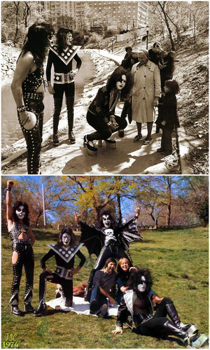 Kiss ~New York City…April 24, 1974 (Central Park)