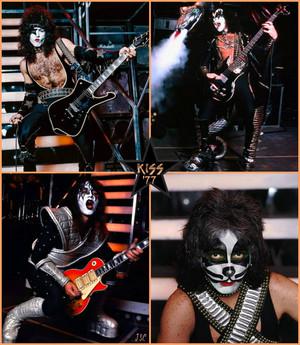 Kiss ~Newburgh, New York…November 9, 1977 (ALIVE II Tour Dress Rehearsals)