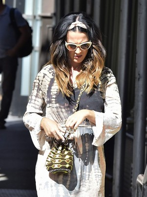 Katy out in Soho