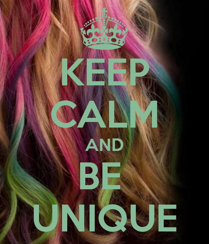 Quotes wallpaper possibly with a portrait called Keep Calm and be Unique