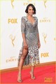 Kerry Washington Sparkles in Silver at Emmy Awards 2015 - scandal-abc photo