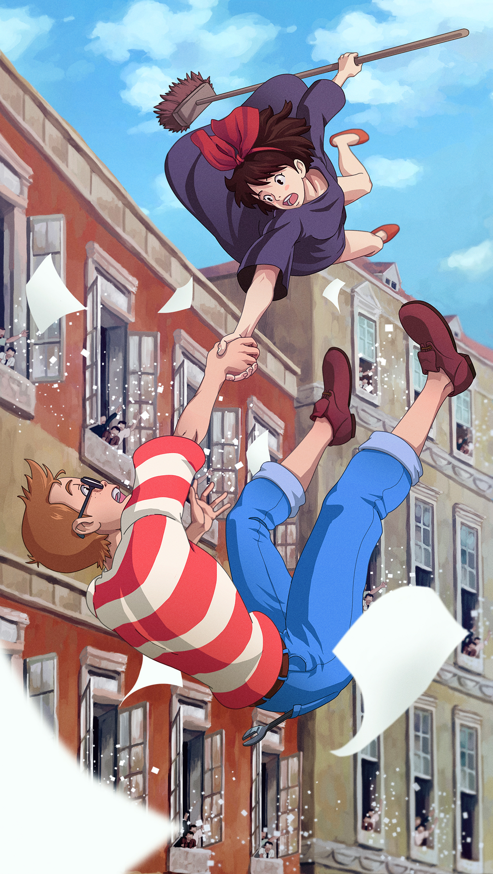 Kiki's Delivery Service images Kiki and Tombo HD wallpaper ...