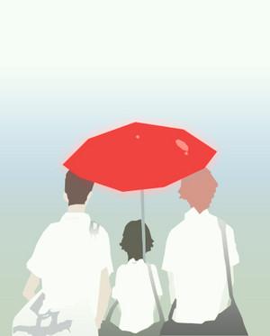 Kosuke, Makoto and Chiaki
