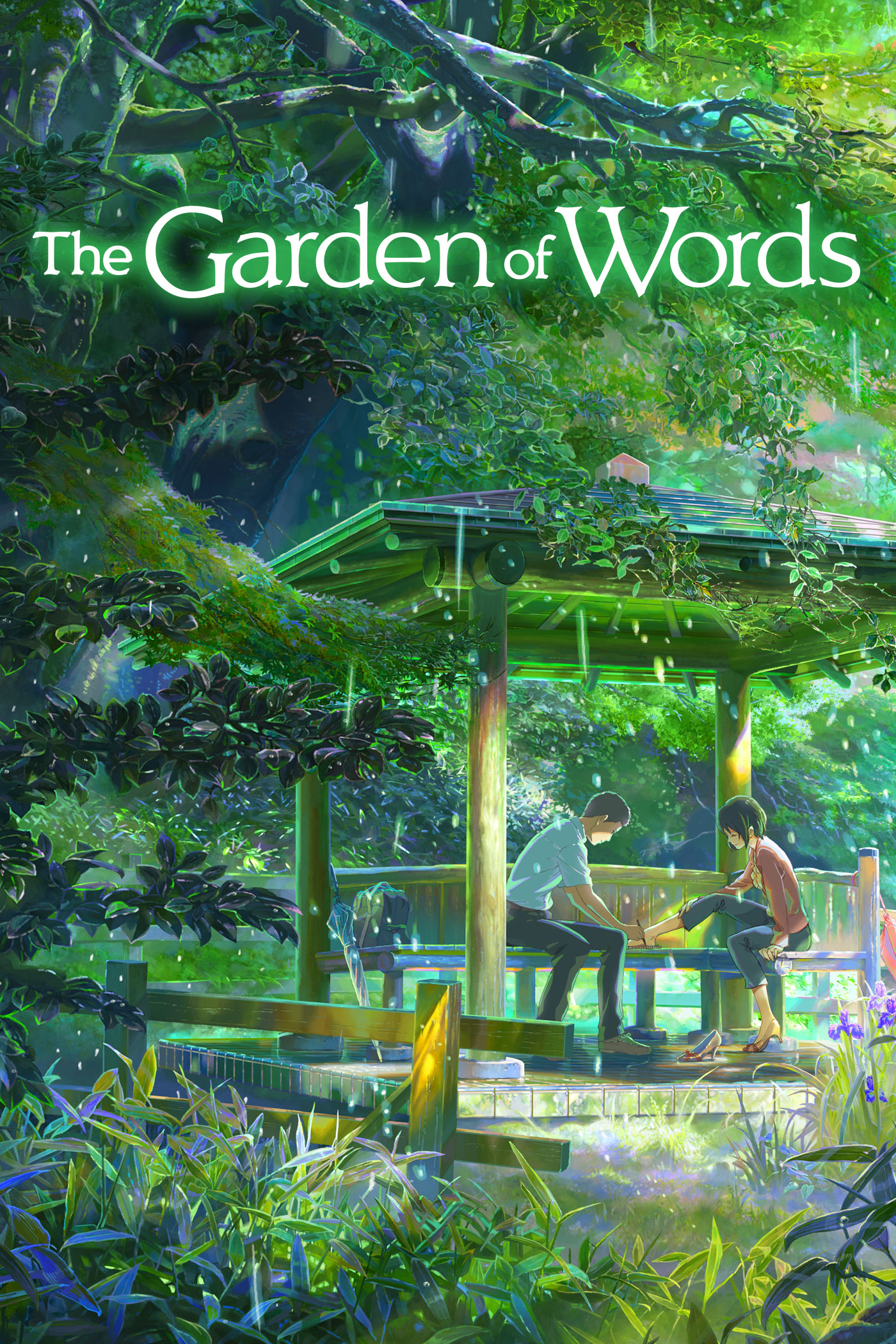 Kotonoha No Niwa Images The Garden Of Words Poster HD Wallpaper And Background Photos