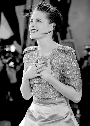 Kristen at Venice Film Festival