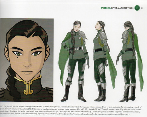 Avatar: The Legend of Korra wallpaper entitled Kuvira Concept Art