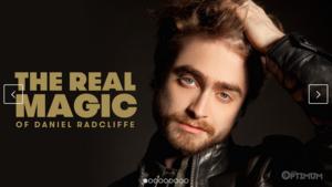L'Optimum Thailand Cover's Daniel Radcliffe (Fb.com/DanielJacobRadcliffeFanClub)
