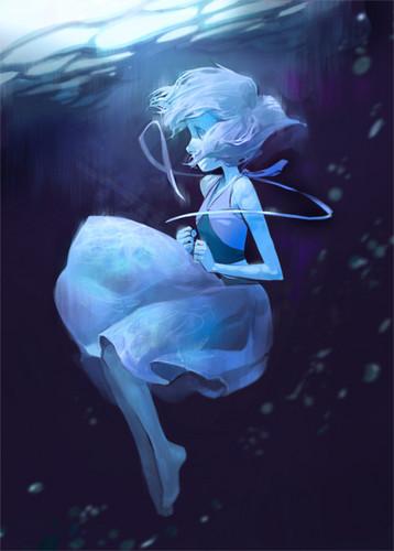 LittleMissBook wallpaper entitled Lapis Lazuli // Steven Universe