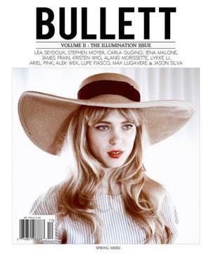 Lea Seydoux - Bullett Magazine Cover - 2011