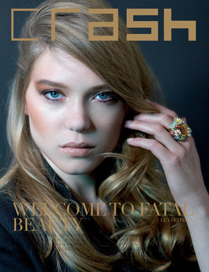 Lea Seydoux - Crash Magazine Cover - 2010