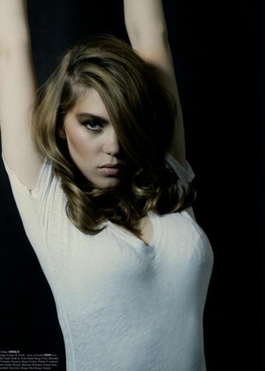 Lea Seydoux - Crash Magazine Photoshoot - 2010