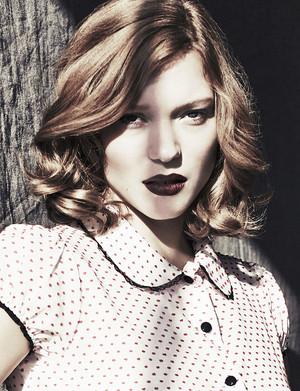 Lea Seydoux - Glamour Spain Photoshoot - 2014