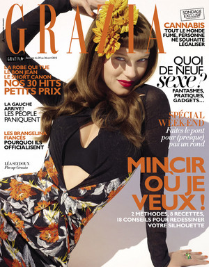 Lea Seydoux - Grazia France Cover - 2012