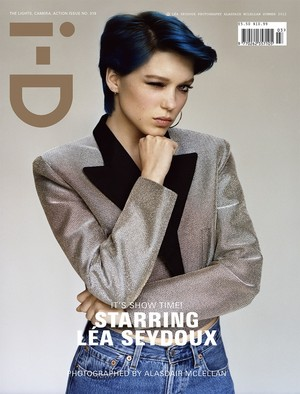 Lea Seydoux - ID Magazine Cover - 2012