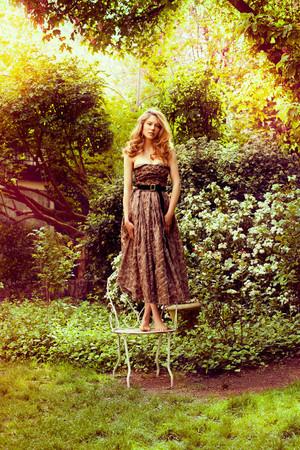 Lea Seydoux - IO Donna Photoshoot - 2010