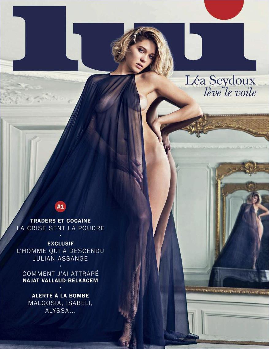 Lea Seydoux - Lui Magazine Cover - 2013