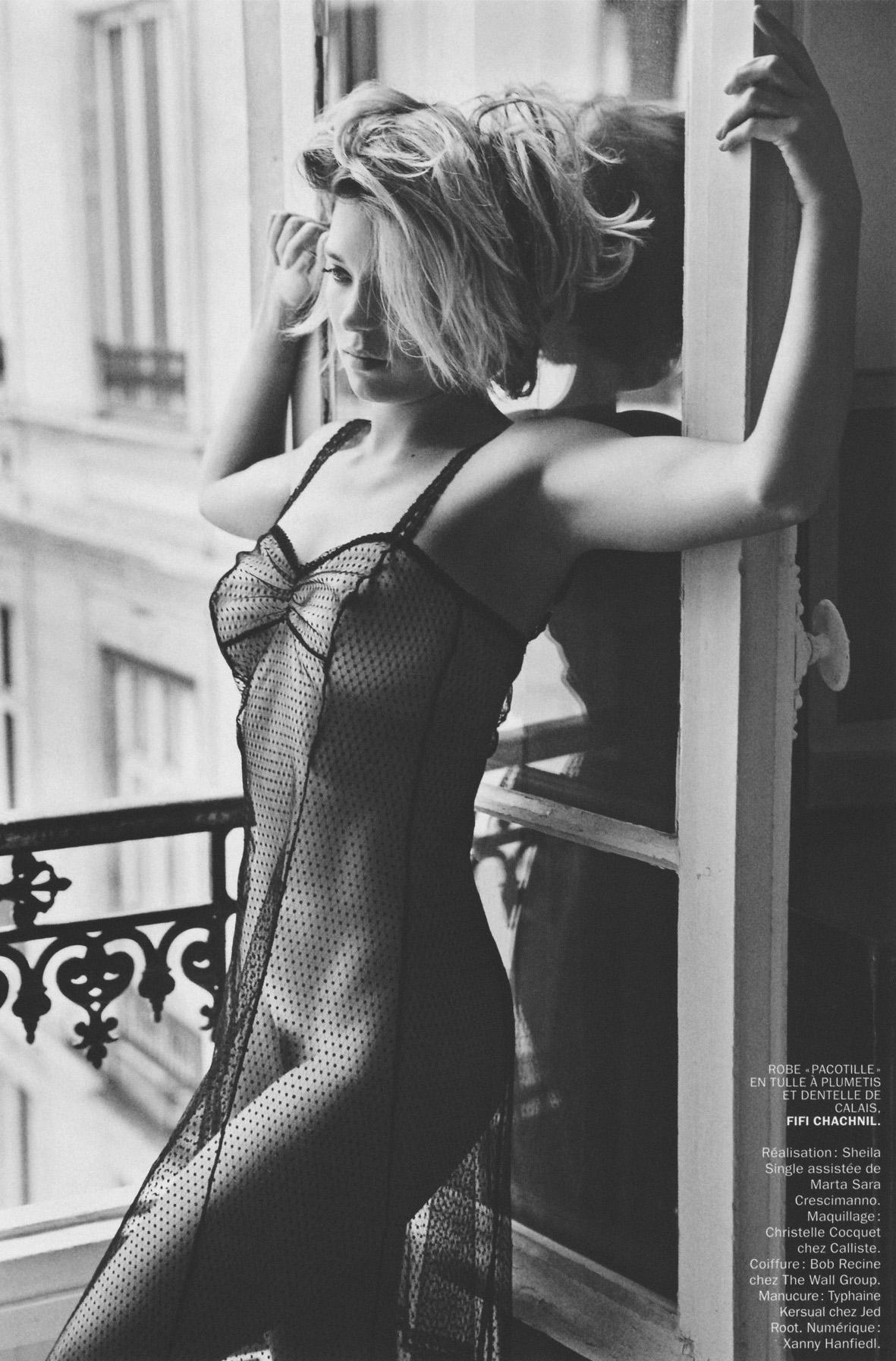 Lea Seydoux - Lui Magazine Photoshoot - 2013