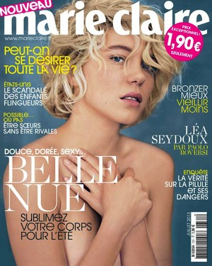Lea Seydoux - Marie Claire France Photoshoot - 2013