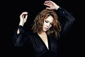 Lea Seydoux - Marie Claire Russia Photoshoot - 2014