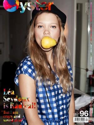 Lea Seydoux - Oyster Magazine Cover - 2011
