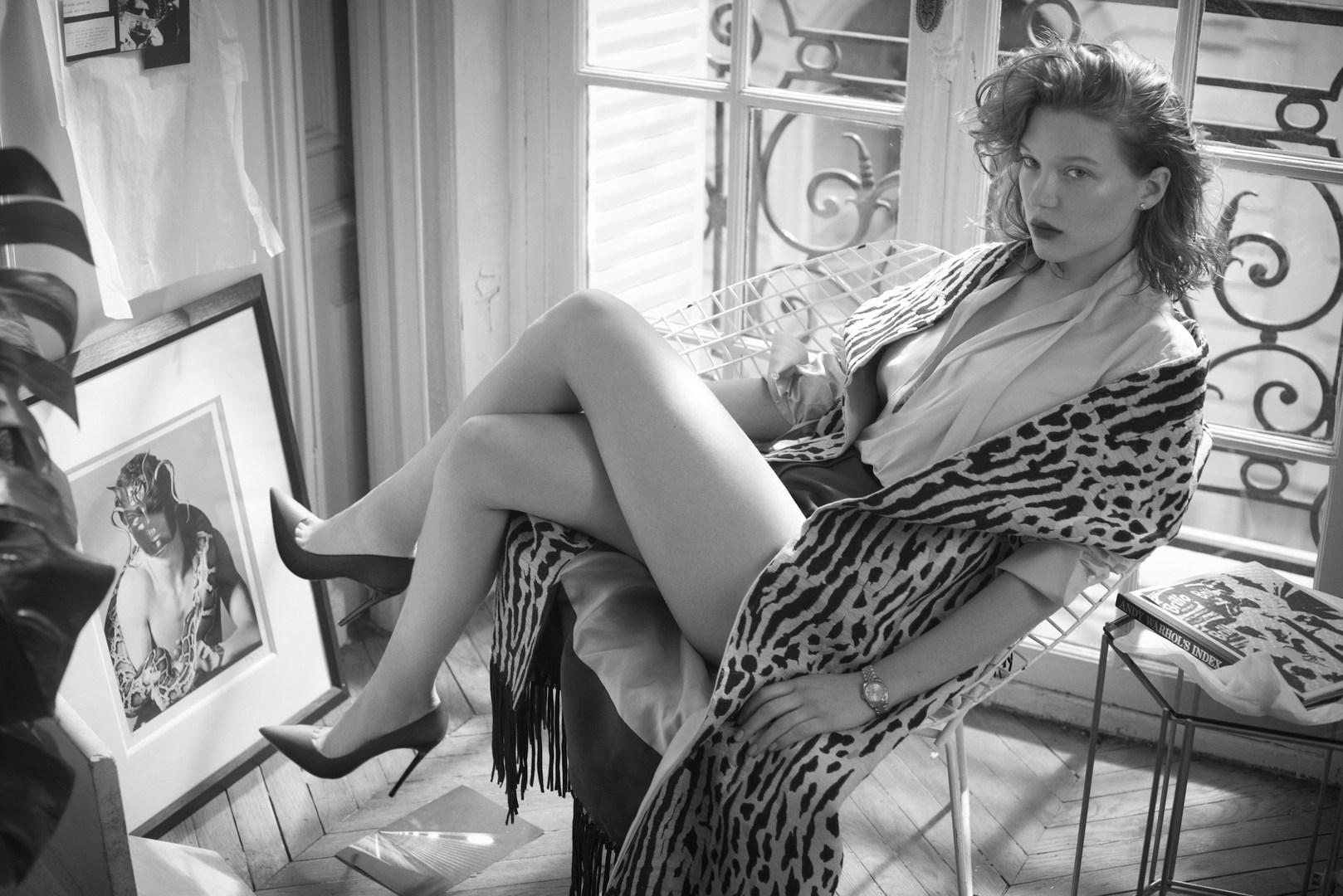 Lea Seydoux - Vogue Italy Photoshoot - 2014