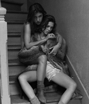 Lea Seydoux and Adele Exarchopoulos - Interview Magazine Photoshoot - 2013