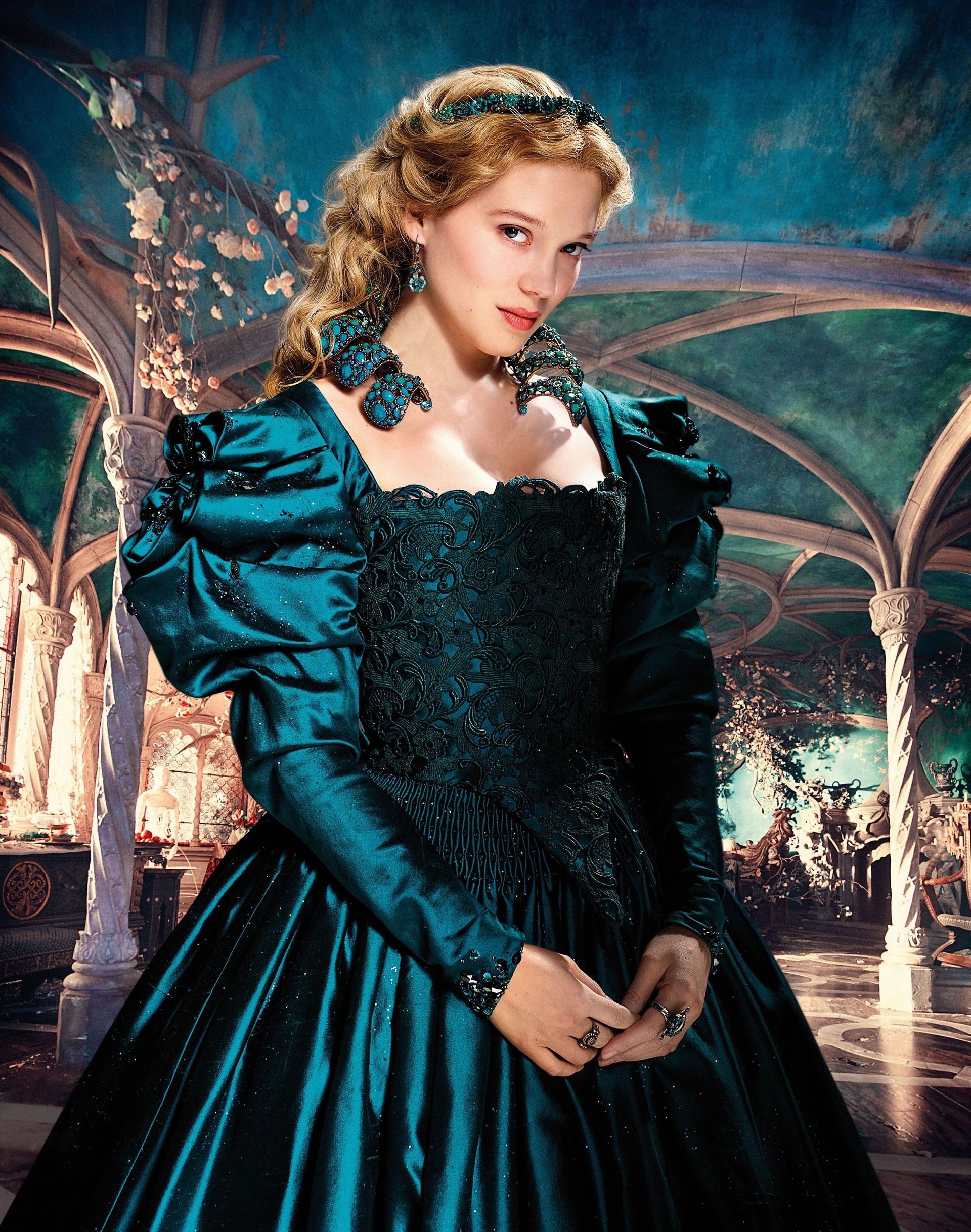 Lea Seydoux As Belle In La Belle Et La Bête Beauty And The