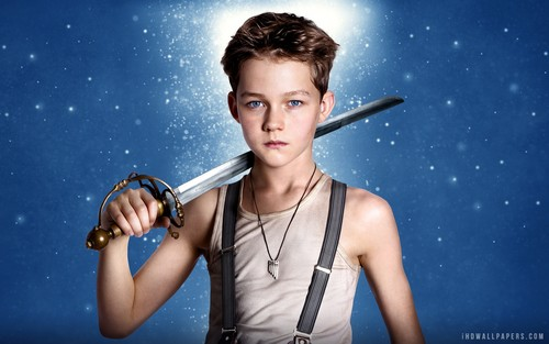 Pan 2015 fondo de pantalla entitled Levi Miller As Peter Pan In Movie 2015