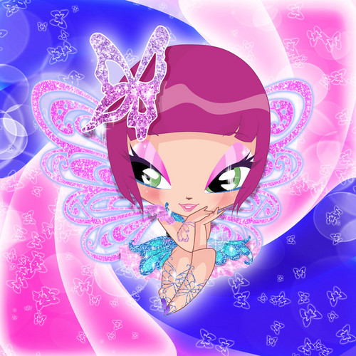 The Winx Club پیپر وال called Lockette Butterflix