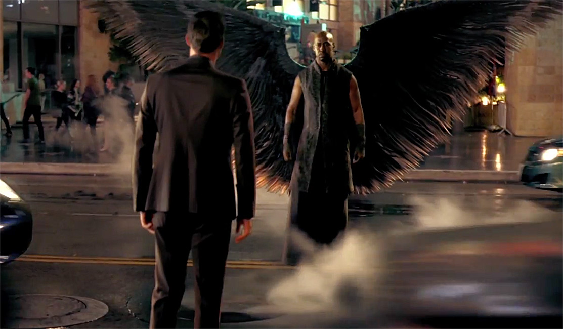 Lucifer and Amenadiel