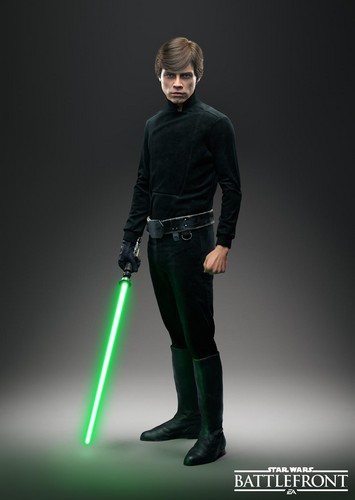 Star Wars wallpaper containing a well dressed person called Luke Skywalker