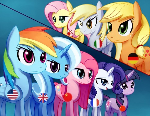 My Little ngựa con, ngựa, pony - Friendship is Magic hình nền containing anime entitled MLP/Anime