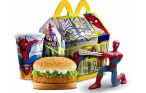 McDonalds Happy Meal Spiderman