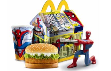McDonalds Happy Meal Spiderman