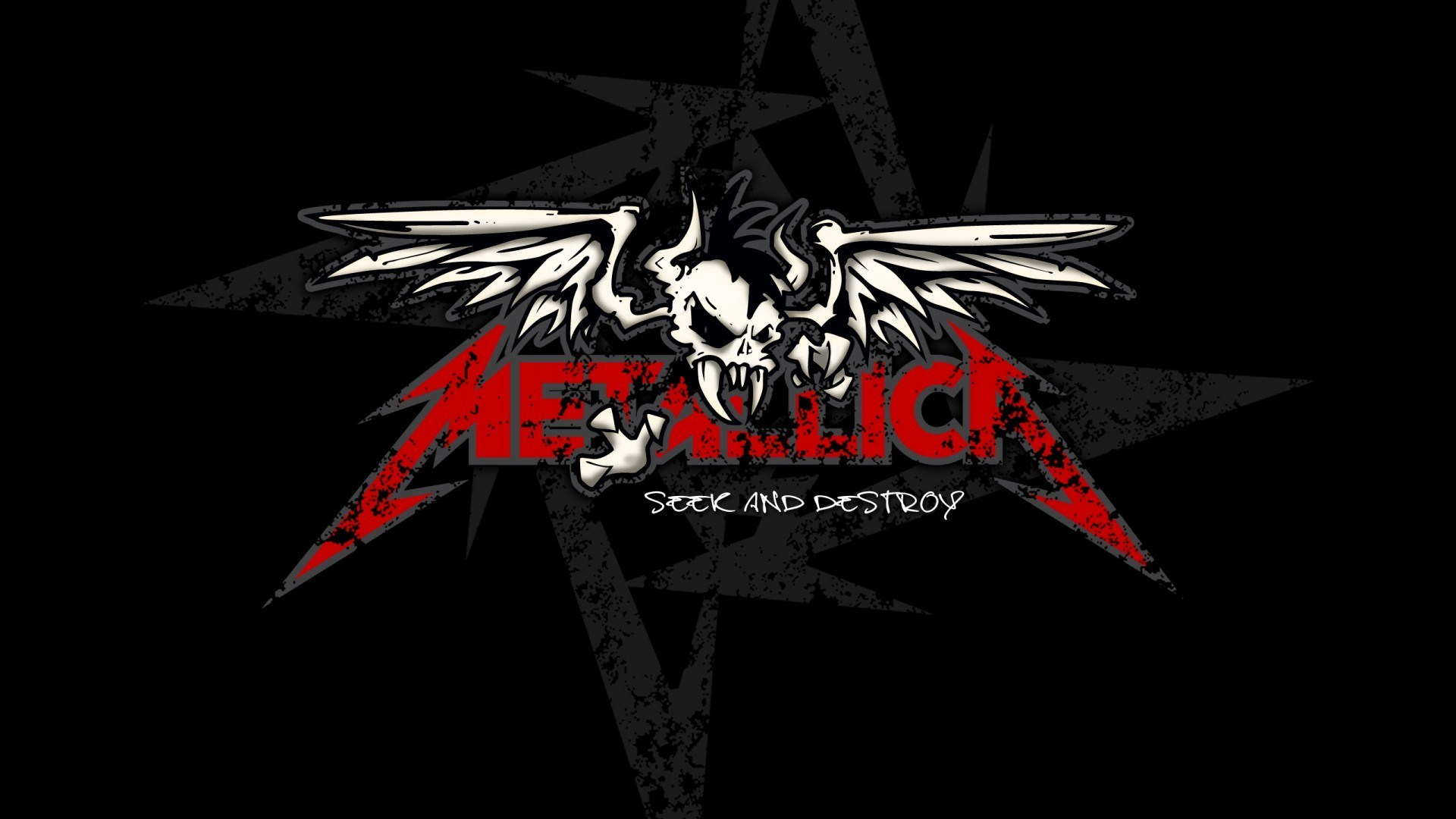 Metallica Images Skull Logo Wallpaper