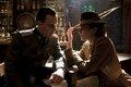 Michael Fassbender as Lt. Archie Hicox and Diane Kruger as Bridget von Hammersmark - inglourious-basterds photo