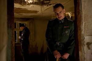 Michael Fassbender as Lt. Archie Hicox