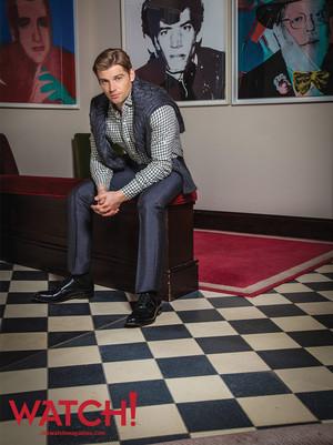 Mike Vogel// CBS Watch Magazine!