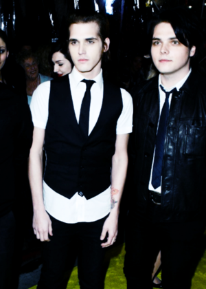 Mikey and Gerard