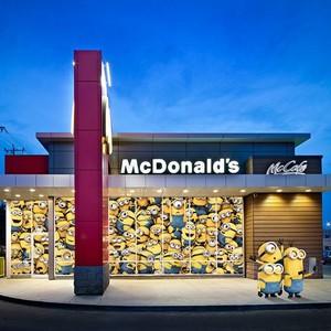 Minions in McDonald's
