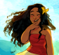 Moana - disney-princess fan art