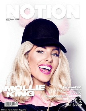 Mollie for Notion magazine