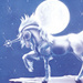 Moonlight unicorn - unicorns icon