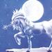 Moonlight unicorn - unicorns icon